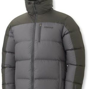 Marmot Guides Down Hoodie Jacket (Gargoyle) XXL